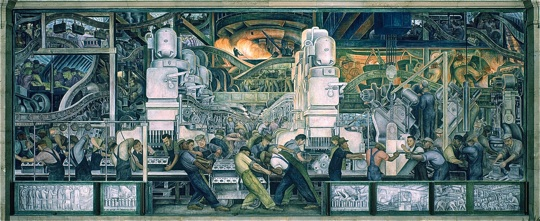 Murals for Diego rivera mural detroit